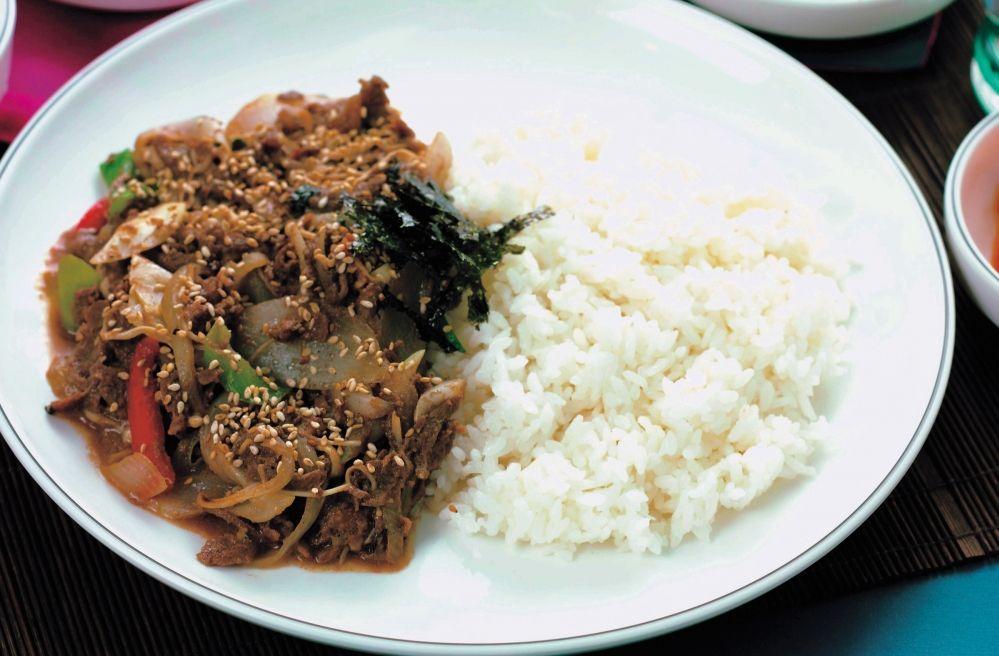 소불고기덮밥 Bulgogi-deopbap