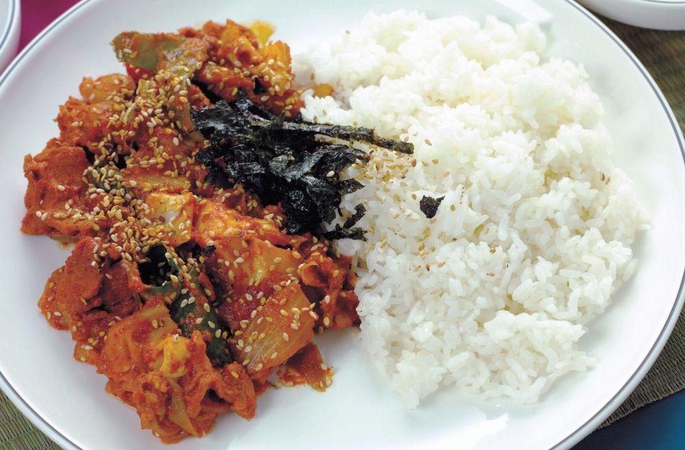 제육덮밥 Jeyuk-deopbap